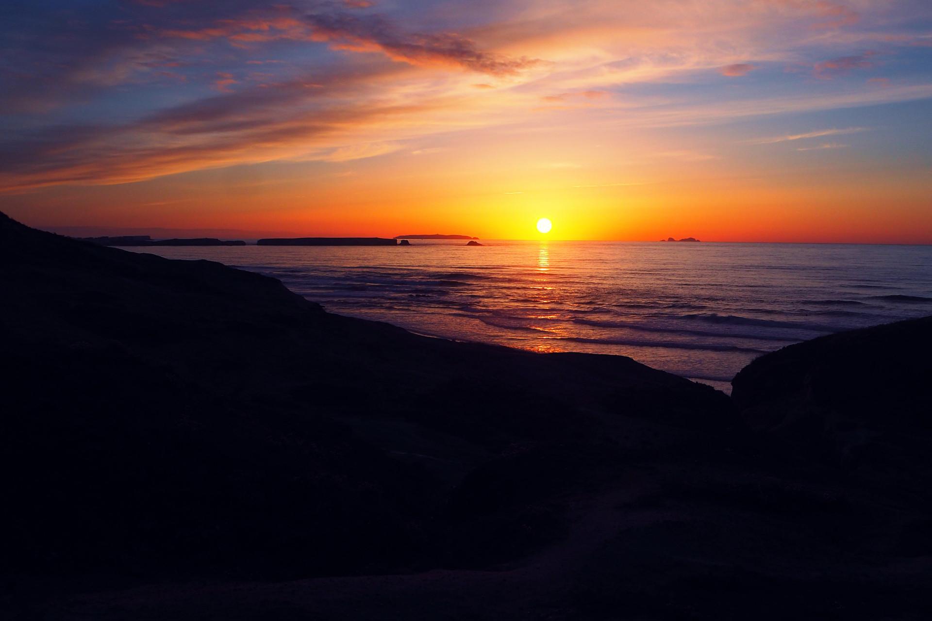 Sonnenuntergang Peniche