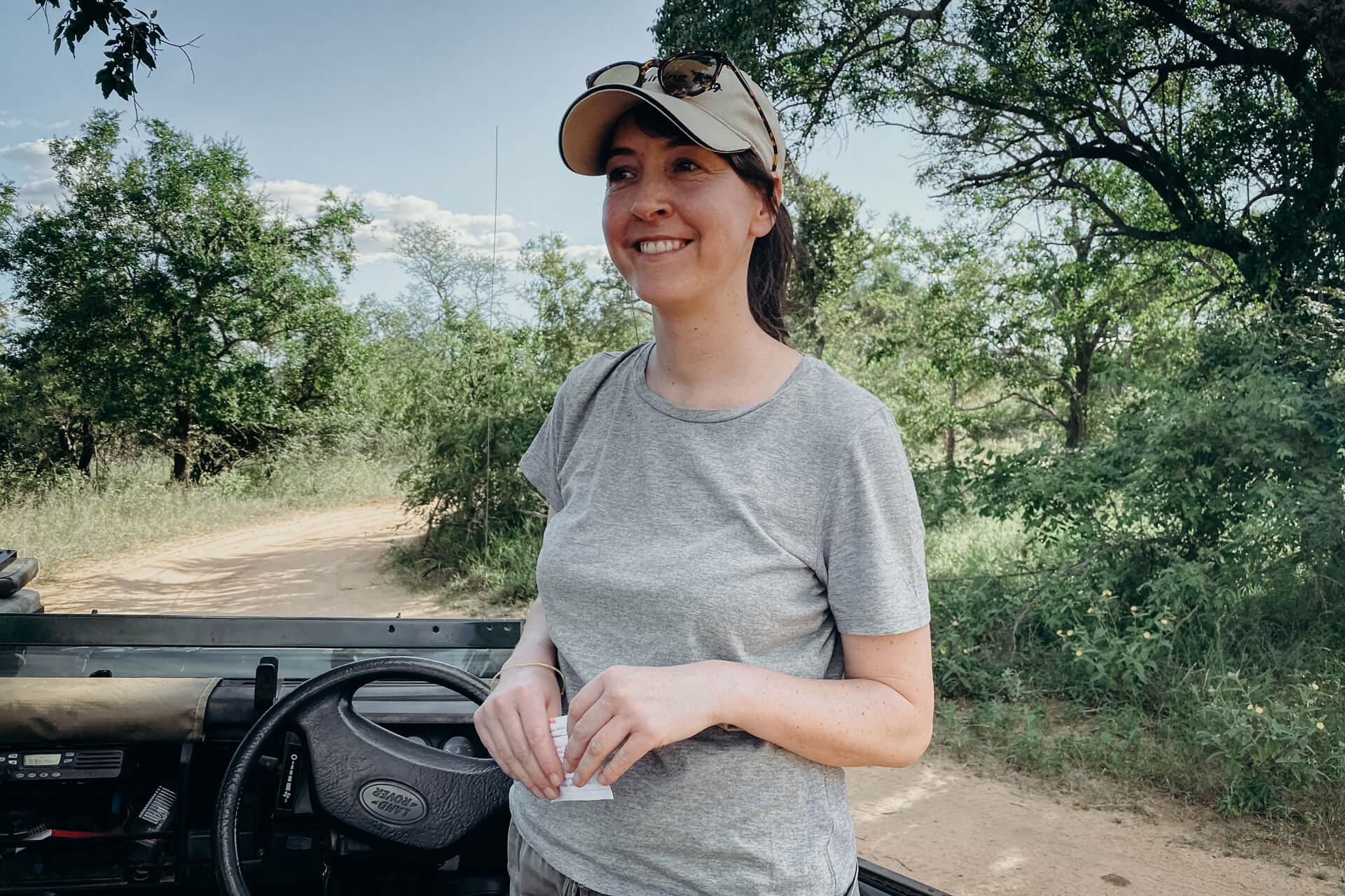 Becoming a safari guide
